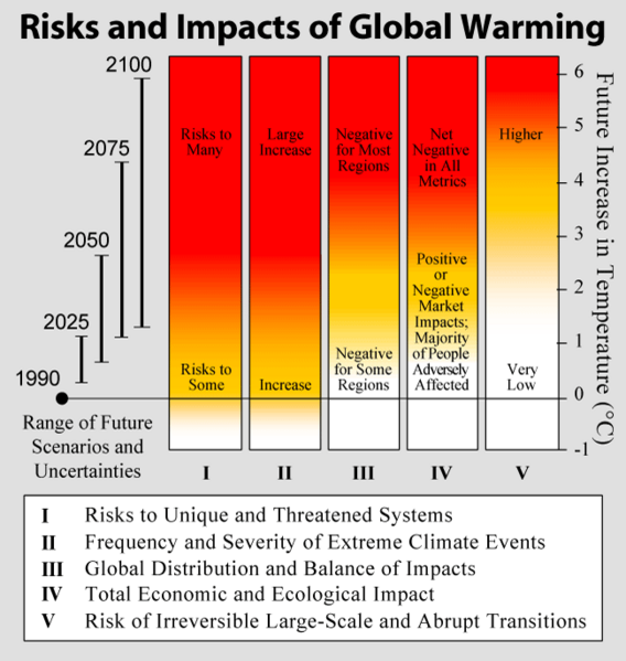 Risks and Impacts of Global Warming