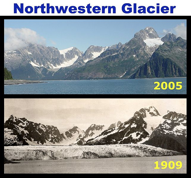 Northwestern Glacier, Kenai Fjords National Park, Alaska