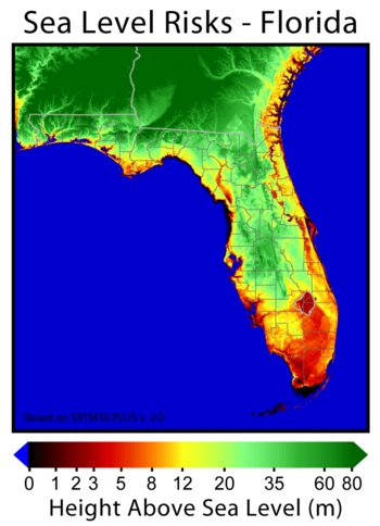 Sea Level Risks Florida